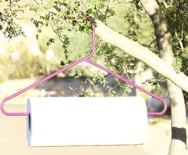 2. DIY Easy Paper Towel Holder