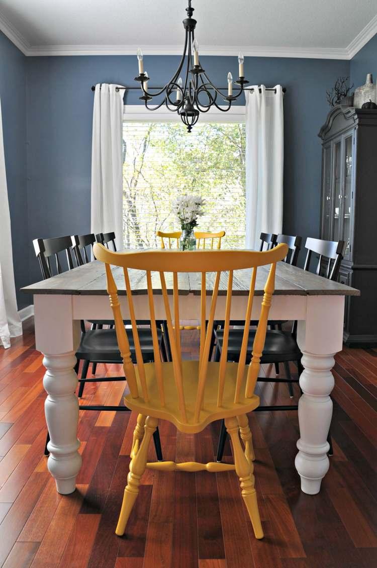 2. DIY Farmhouse Dining Table Plan