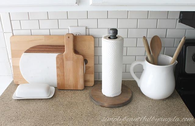 20. DIY Industrial Pipe Paper Towel Holder