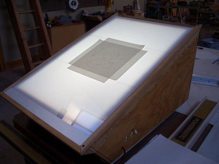 21. DIY Light Box