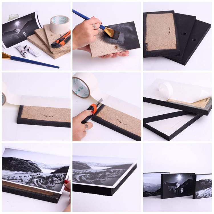 21. DIY Photo Frame Tutorial