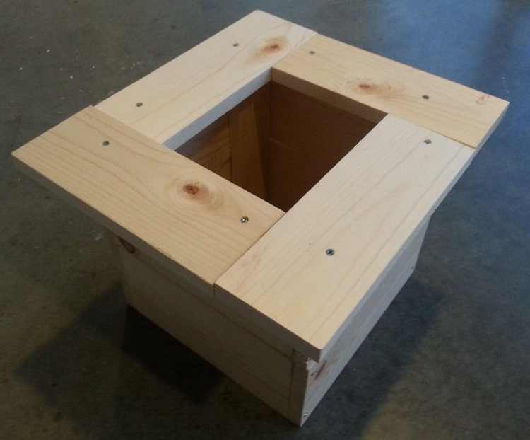 21. DIY Planter Box
