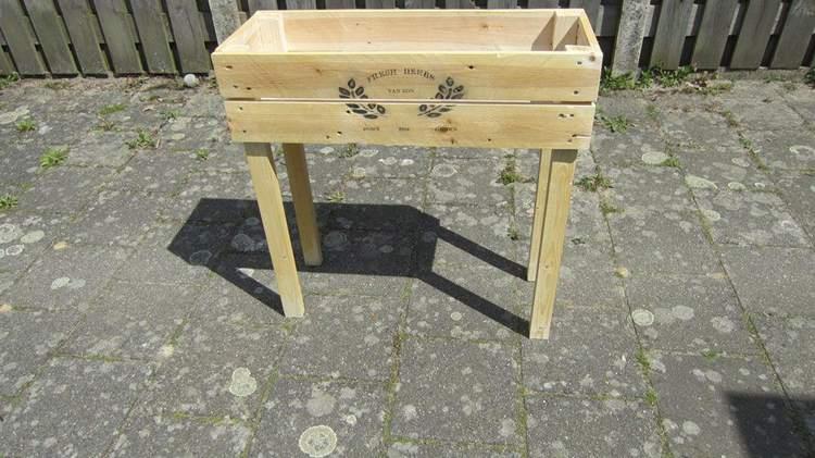 21. DIY Raised Garden Box