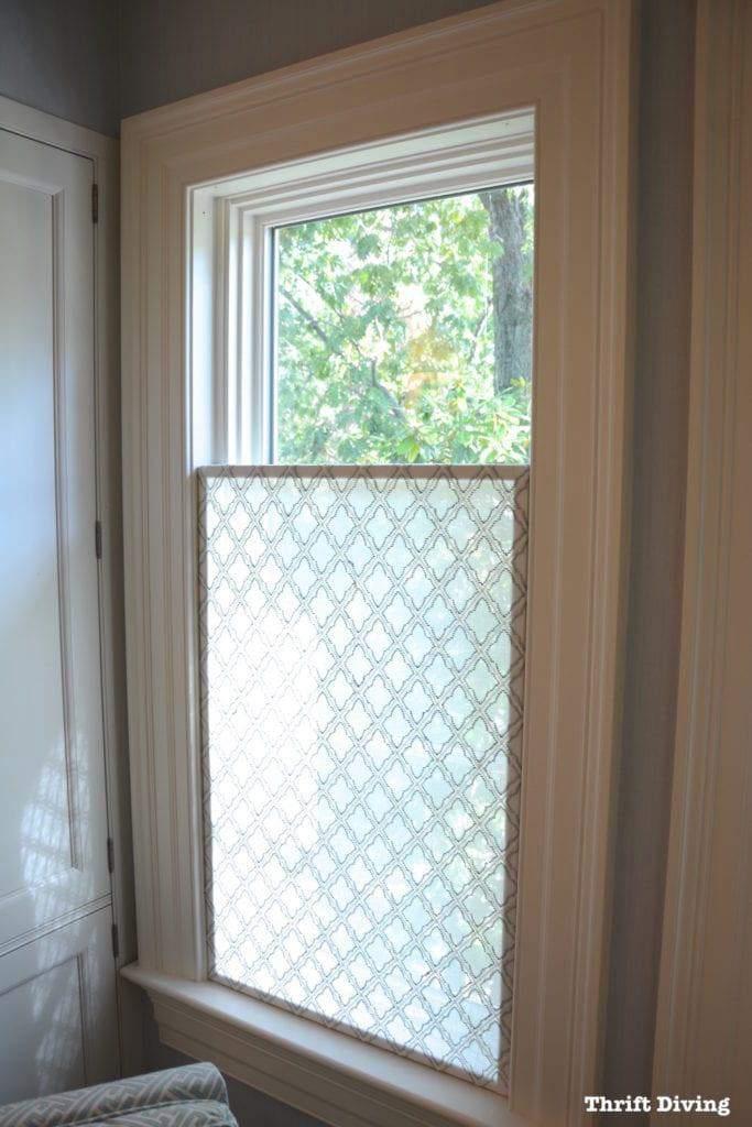 21. DIY Window Privacy Screen