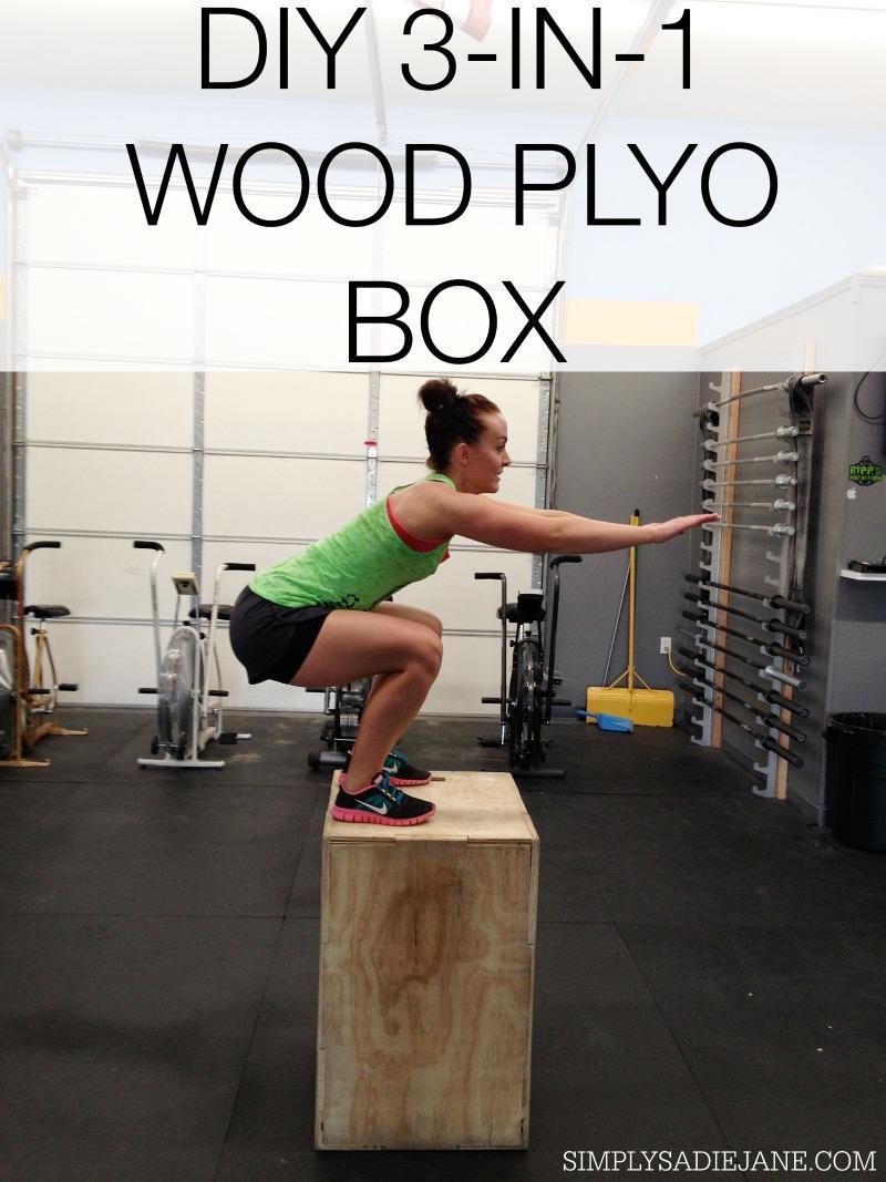 21. DIY Wooden Plyometric Box