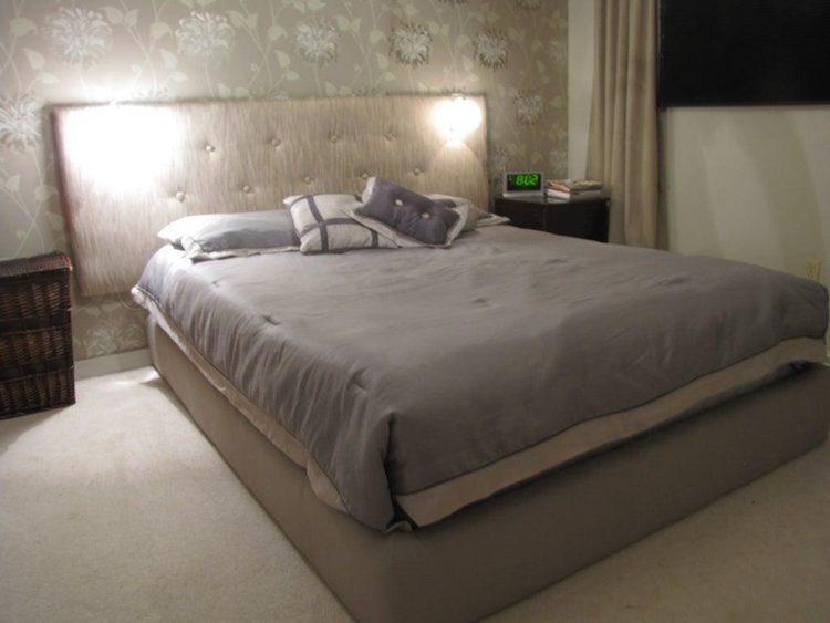 22. DIY Cheap Platform Bed
