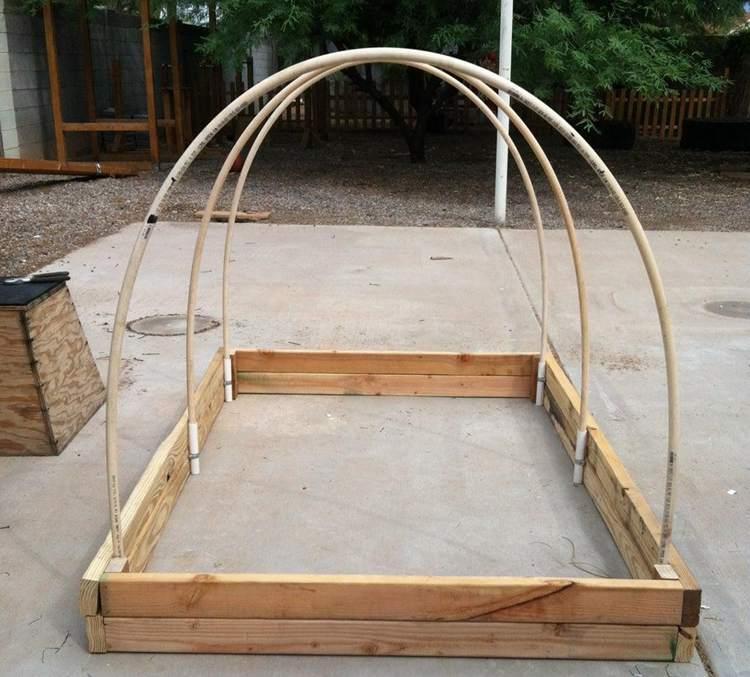 22. DIY Garden Box Construction