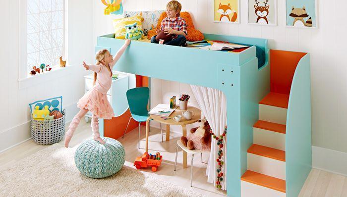 22. DIY Junior Loft Bed