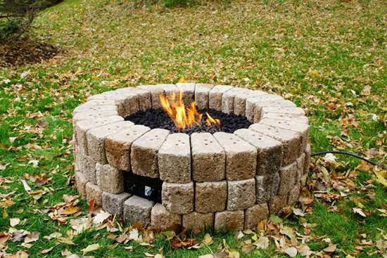 23 DIY Gas Fire Pit Plans That You Can Recreate In No Time