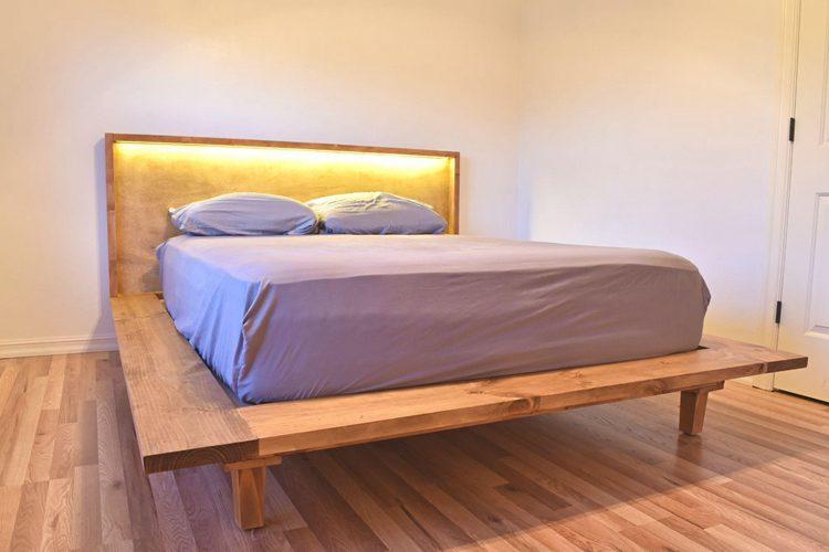 23. DIY Modern Platform Bed