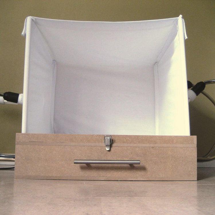 23. DIY Portable Light Box