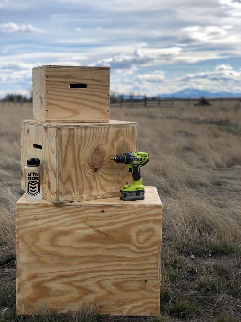 23. DIY Wooden Plyo Boxes