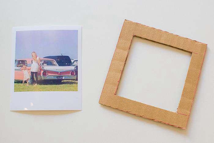 23. How To Make A Cardboard DIY Photo Frame