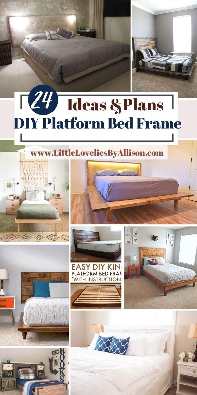 24 Best DIY Platform Bed Frame Ideas Of 2021