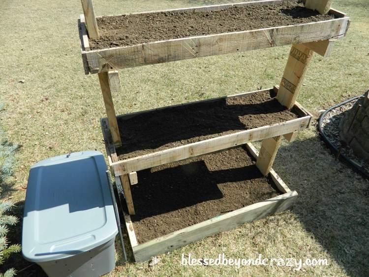 24. DIY Gardening Box