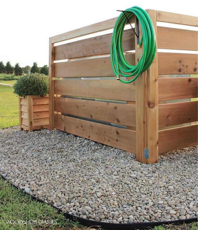 24. DIY Louvered Planter Boxes