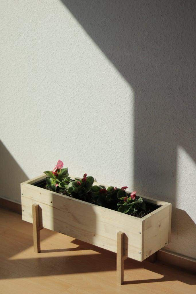 24. DIY Plant Stand For Balcony