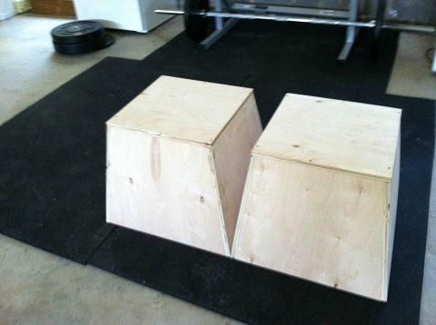 24. DIY Plyo Boxes For $40