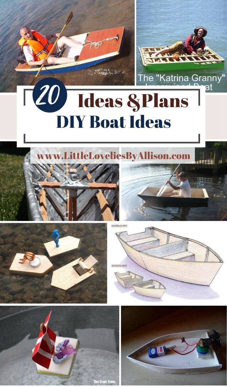 20 DIY Boat Ideas_ Homemade Ideas For Kids And Real Time Use