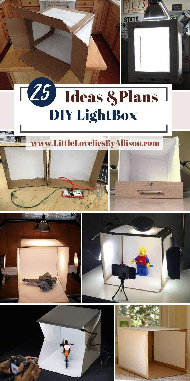 25 DIY LightBox_ How To Build A Photo LightBox