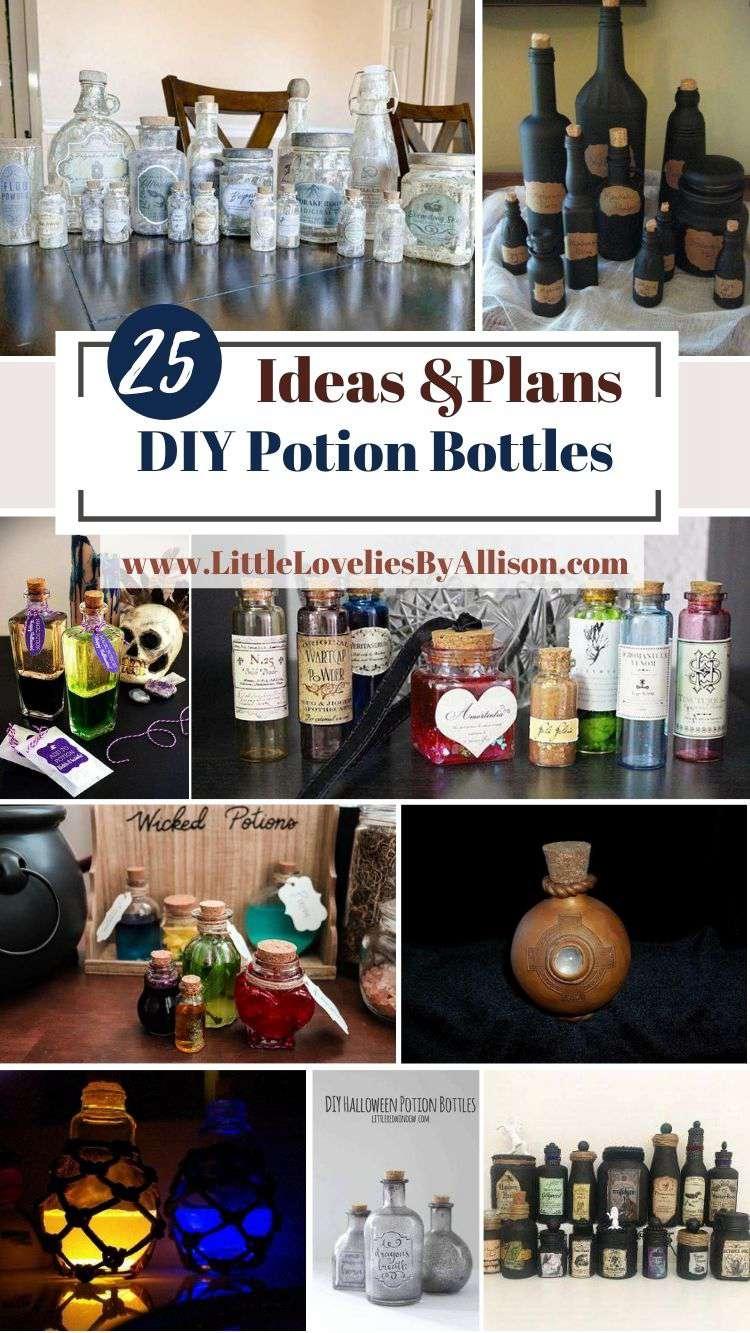 25 DIY Potion Bottles_ How To Make A Potion Bottle Like A Pro