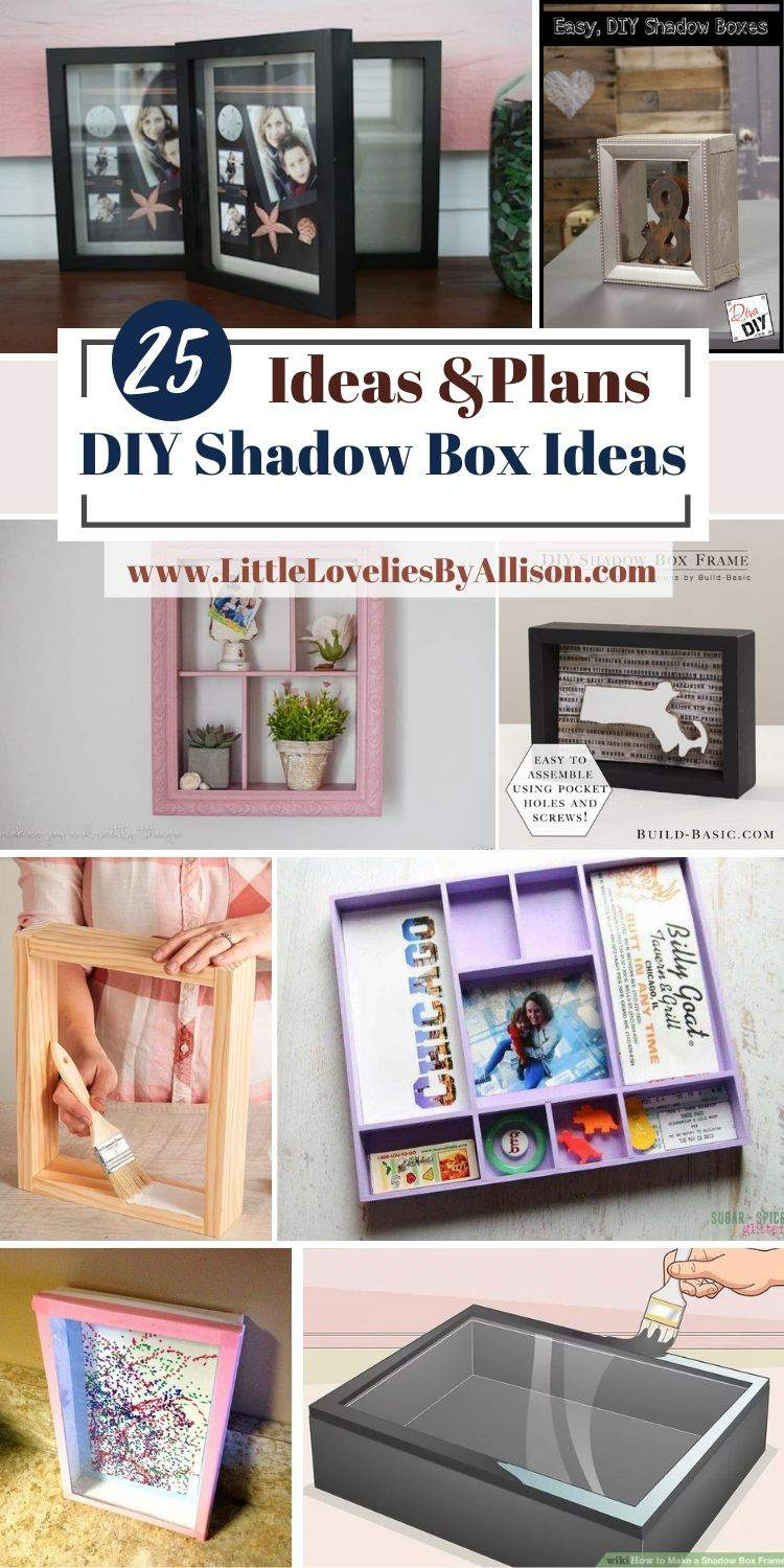 25 DIY Shadow Box Ideas That Cost Little To Make