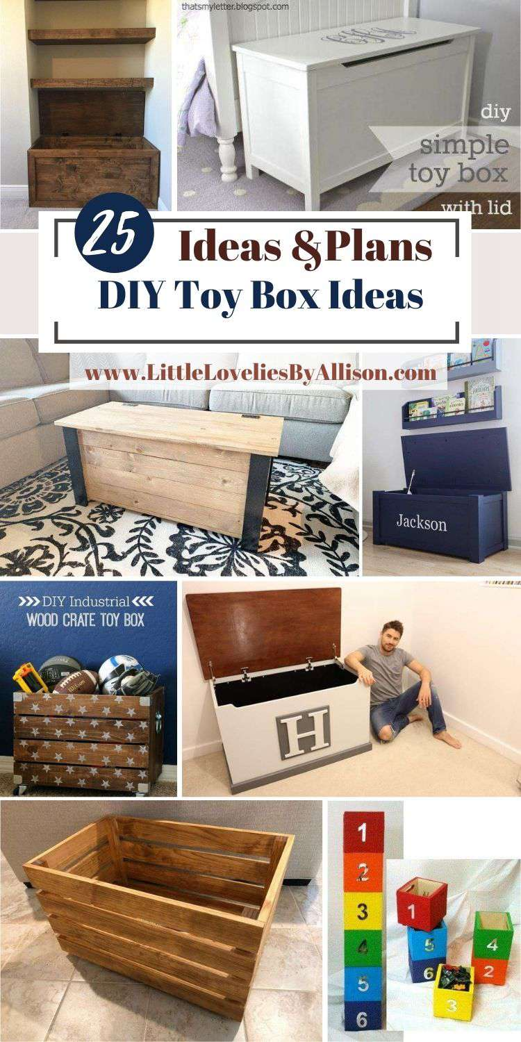 25 DIY Toy Box Ideas_ How To Build A Toy Box For The Kids