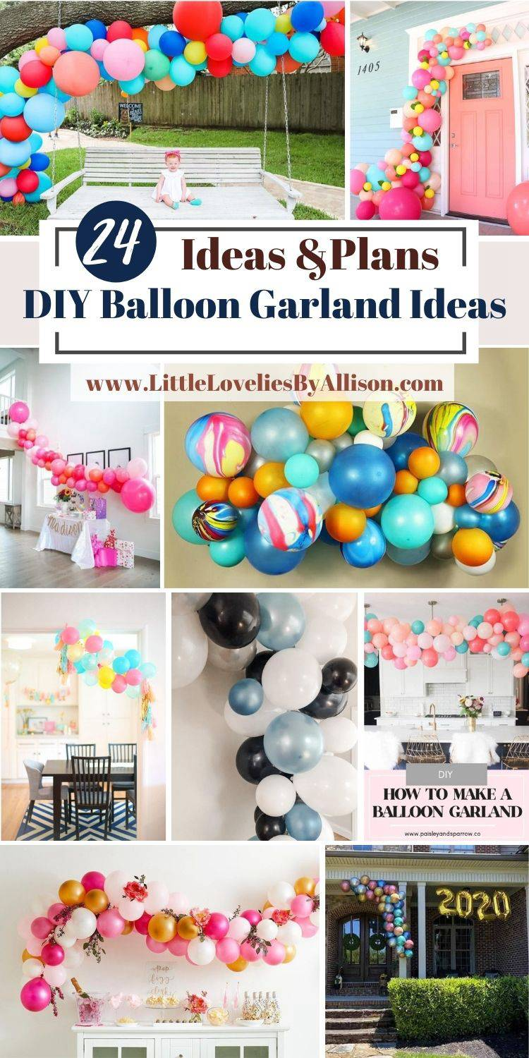 24 DIY Balloon Garland Ideas That Will Bring Life To Any Party