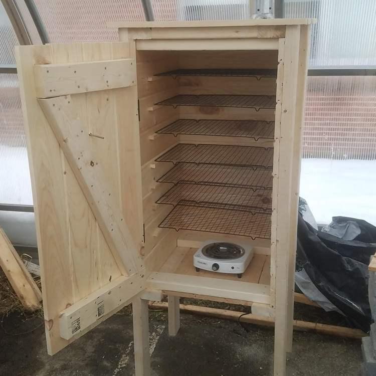 27. DIY Homemade Smoker