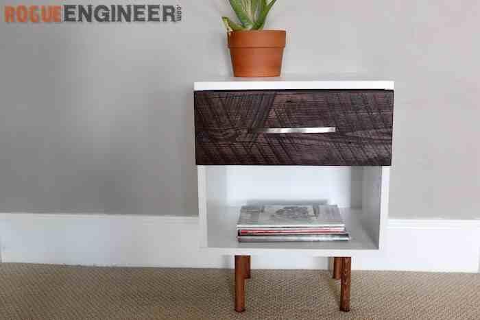27. DIY Modern Side Table