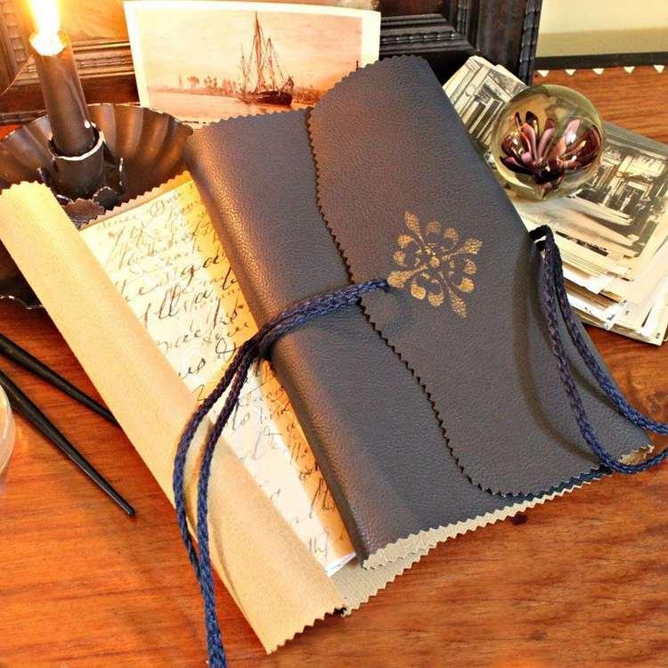 29. Easy Bound Journal DIY