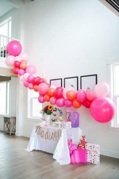 3. DIY Balloon Garland