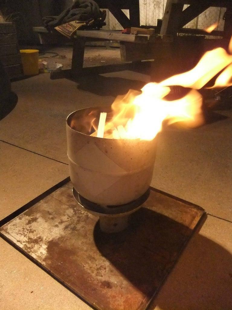 3. DIY Gas Bottle Fire Pit