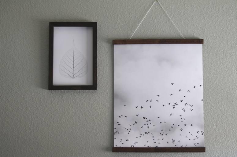3. DIY Poster Frames