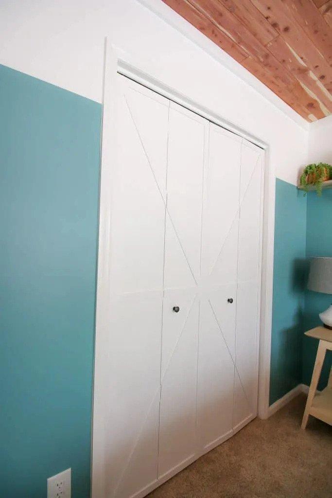 30. DIY Bi-Fold Barn Doors