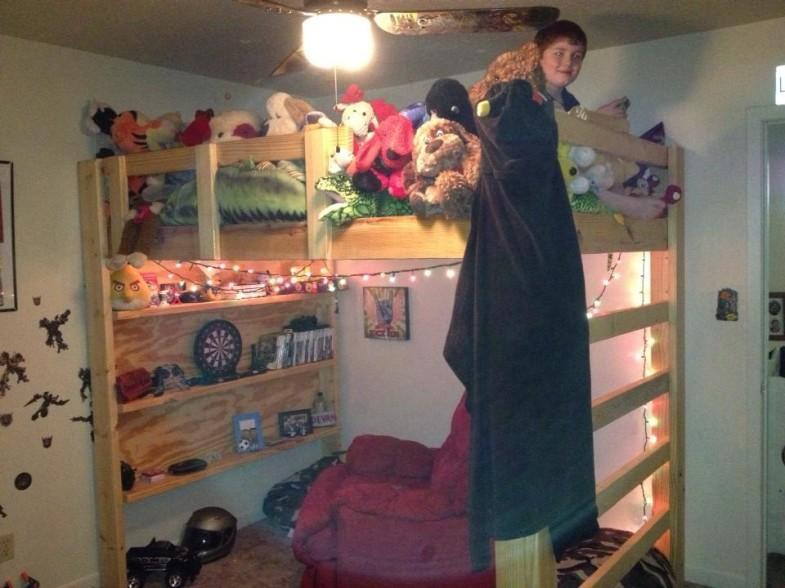 31. How To Build A Full-Size Loft Bed