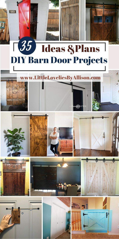 35 DIY Barn Door Projects_ How To Build A Barn Door