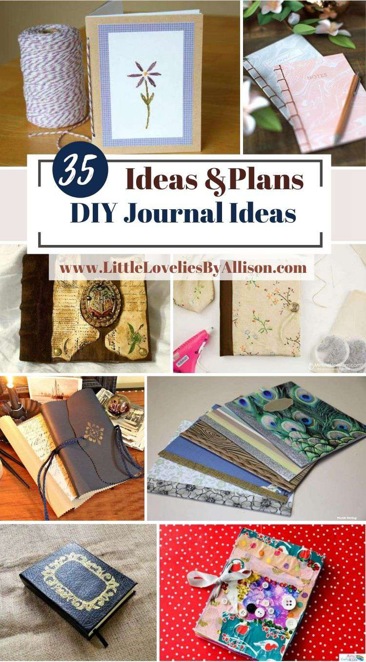 35 DIY Journal_ How To Make A Journal From Scratch