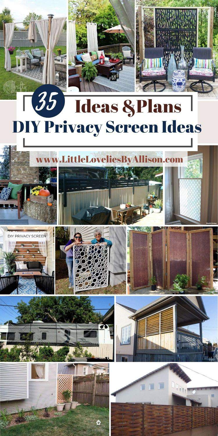 35 DIY Privacy Screen Ideas 2021_ Indoor And Outdoor Projects