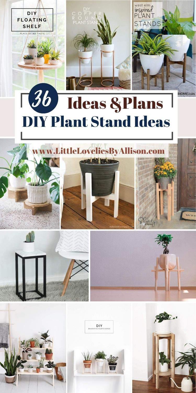36 DIY Plant Stand Ideas_ How To Make A Plant Shelf