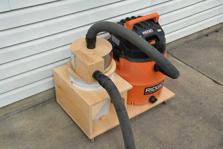 4. DIY Compact Dust Collector