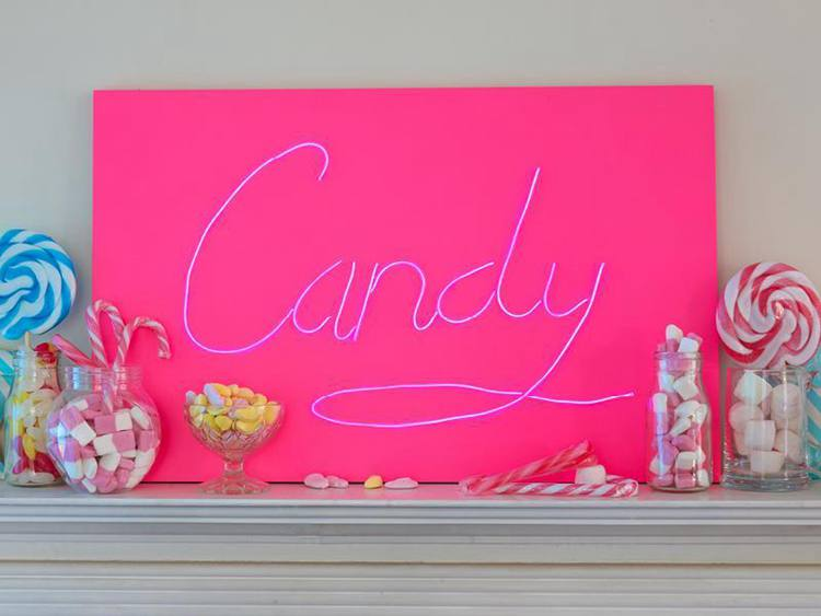 4. How To Create A DIY Neon Sign