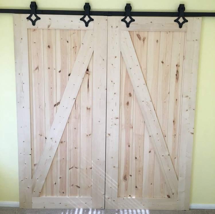 5. DIY Barn Doors