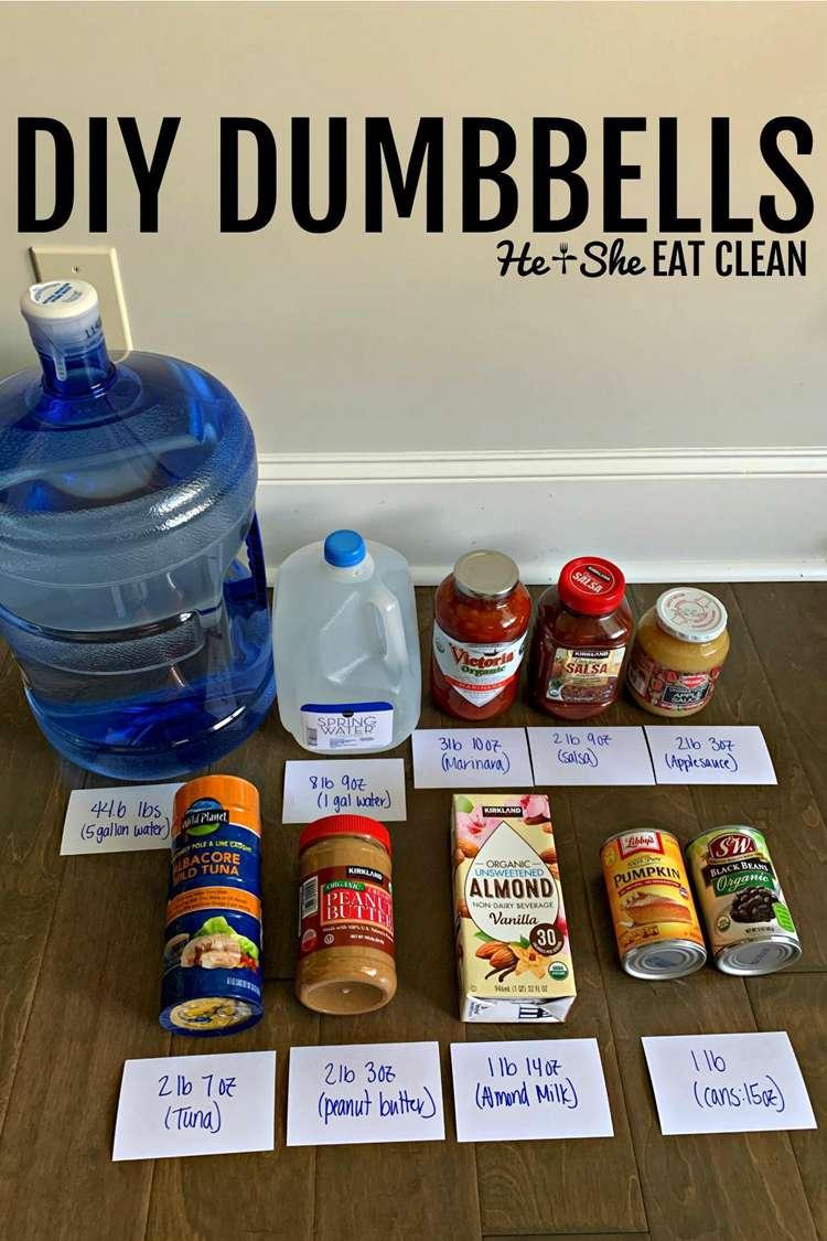 5. DIY Dumbbells