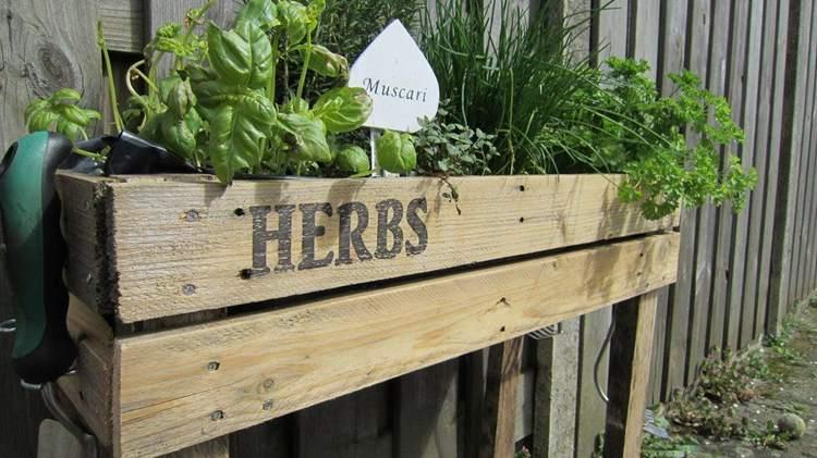 5. DIY Garden Box
