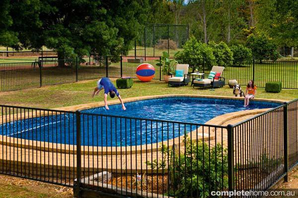 5. DIY Pool Fencing