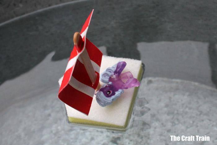 5. DIY Sponge Boat Craft For Kids