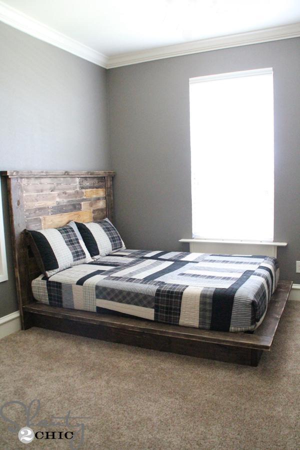 5. Easy DIY Platform Bed