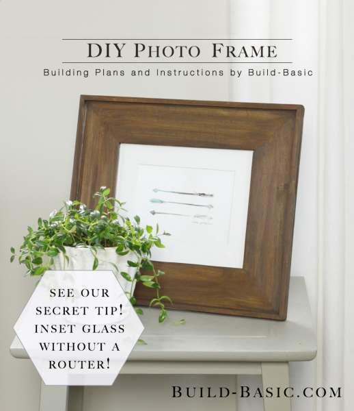 5. How To Build A DIY Photo Frame