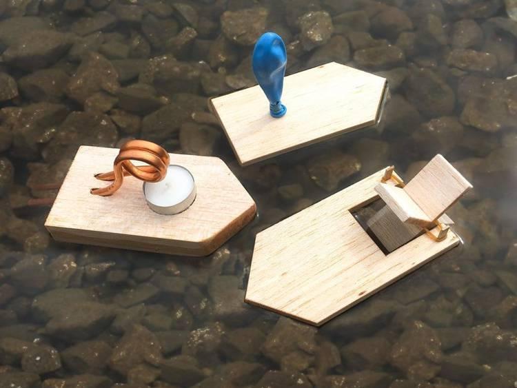 6. DIY Stem Boats For Students